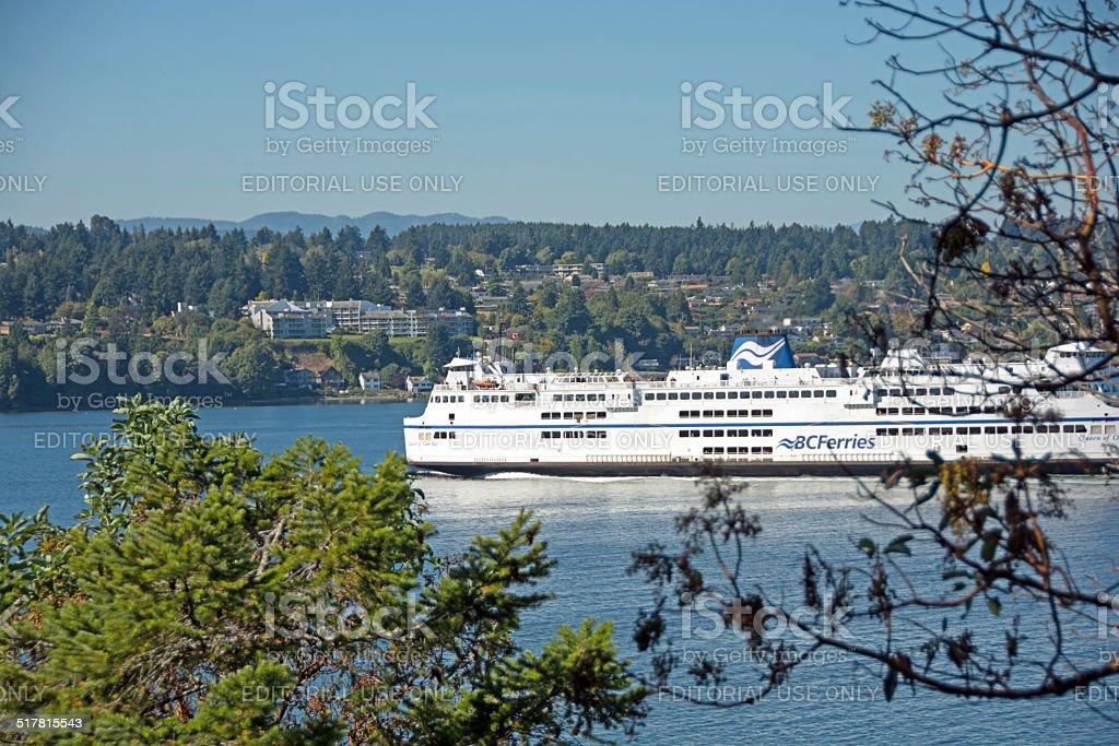 British Columbia Ferry stock photo