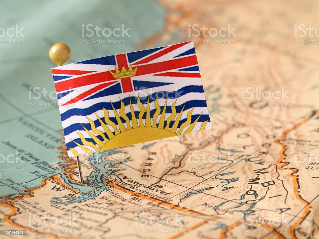 British Columbia stock photo