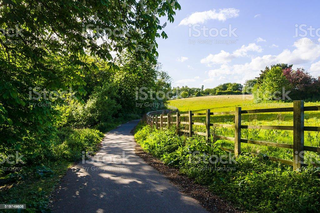 British countryside stock photo