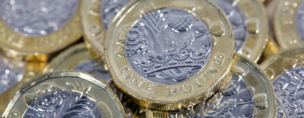 British Currency - Money stock photo