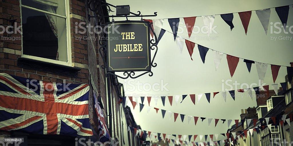 British Diamond Jubilee Celebrations stock photo