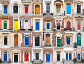 Thirty-two colourful British doors from the past few centuries. Full resolution is 300dpi.