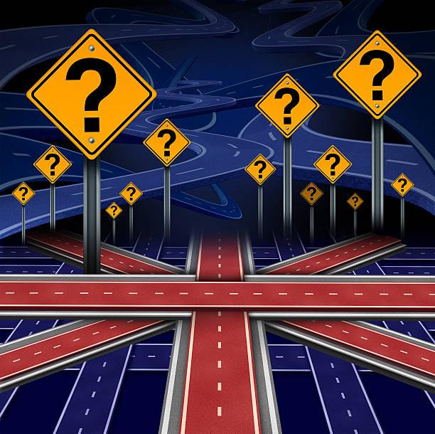 british european question - britische politik stock-fotos und bilder