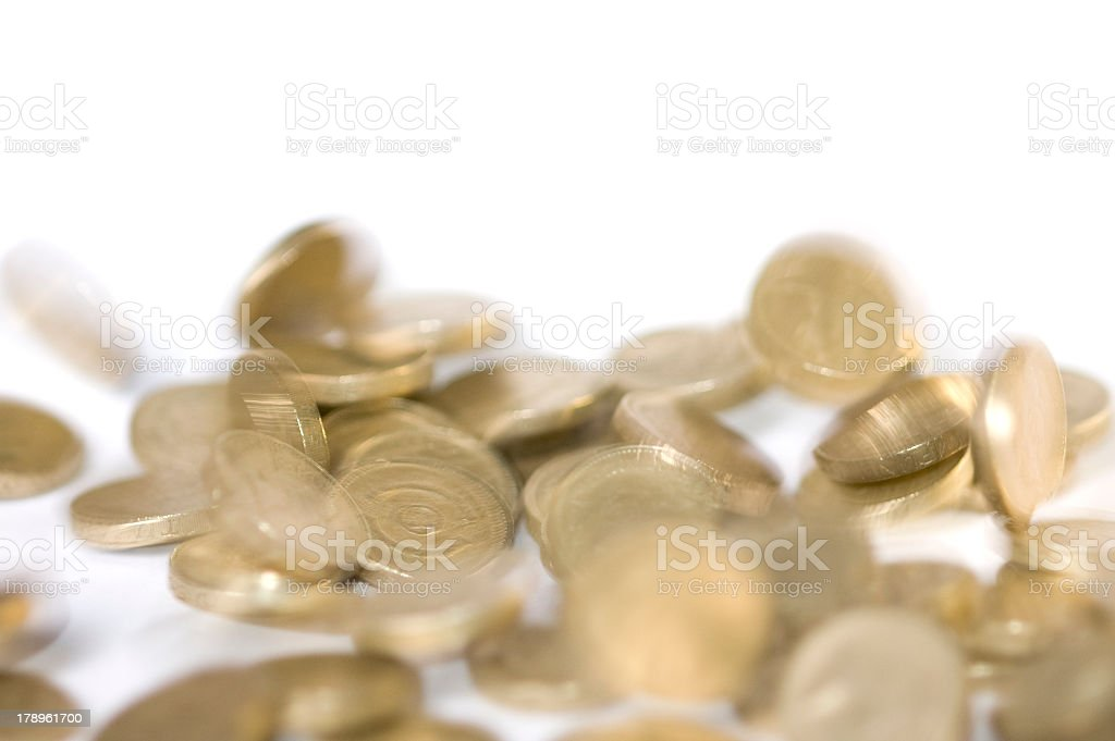 British falling pound royalty-free stock photo