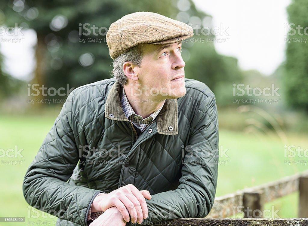 British Farmer stock photo