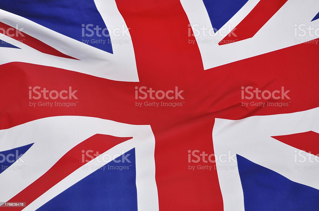 British Flag royalty-free stock photo