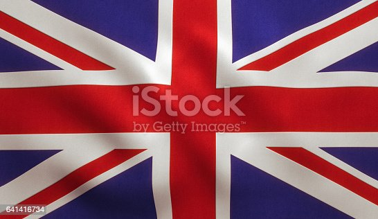 UK Great Britain Flag Background Texture