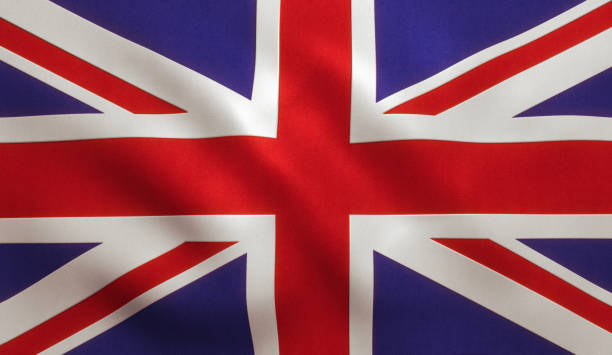 UK British Flag UK Great Britain Flag Background Texture aristocrat stock pictures, royalty-free photos & images