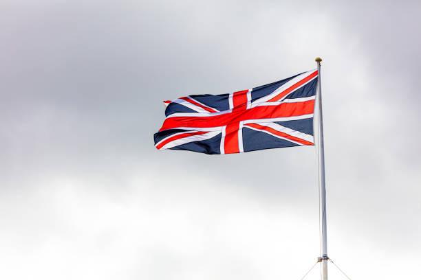 British Flag Union Jack stock photo