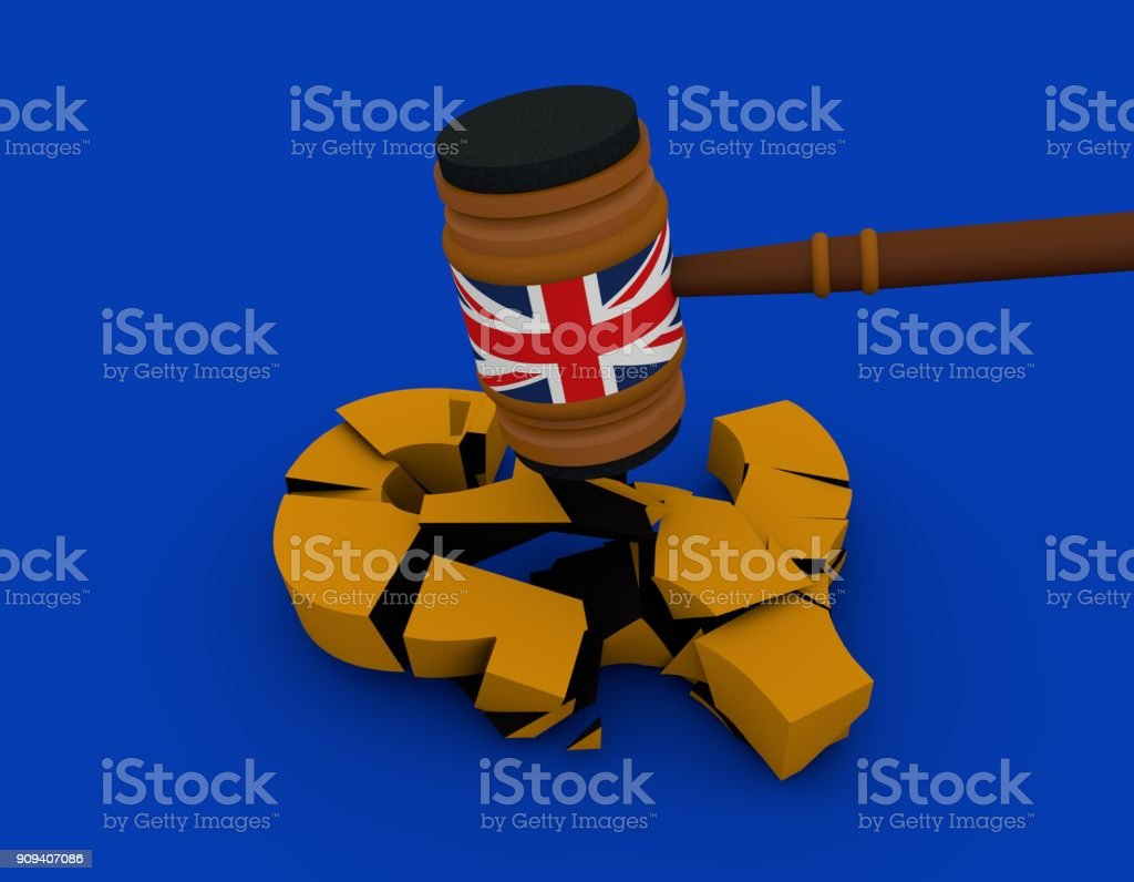 British Hammer Pound Euro Sign Stock Photo More Pictures Of Brexit