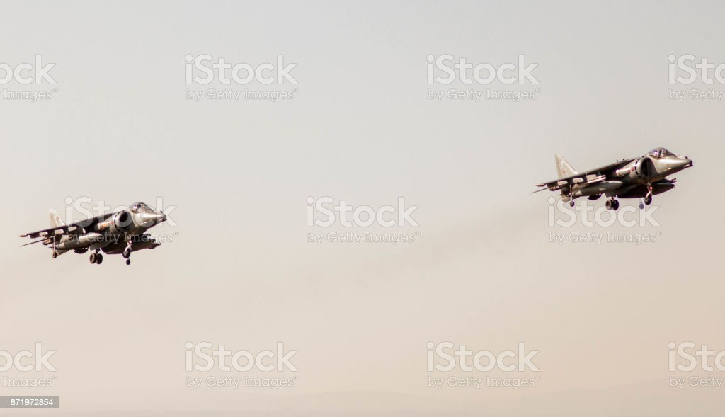 British Harrier Jet stock photo