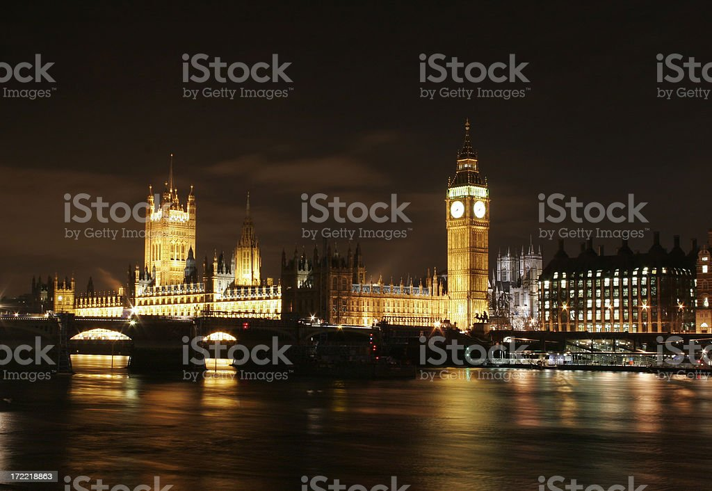 British House of Parliament and Big Ben royalty-free stock photo