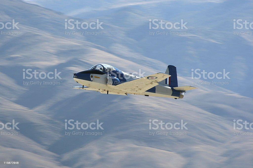 British Jet Fighter royalty-free stock photo