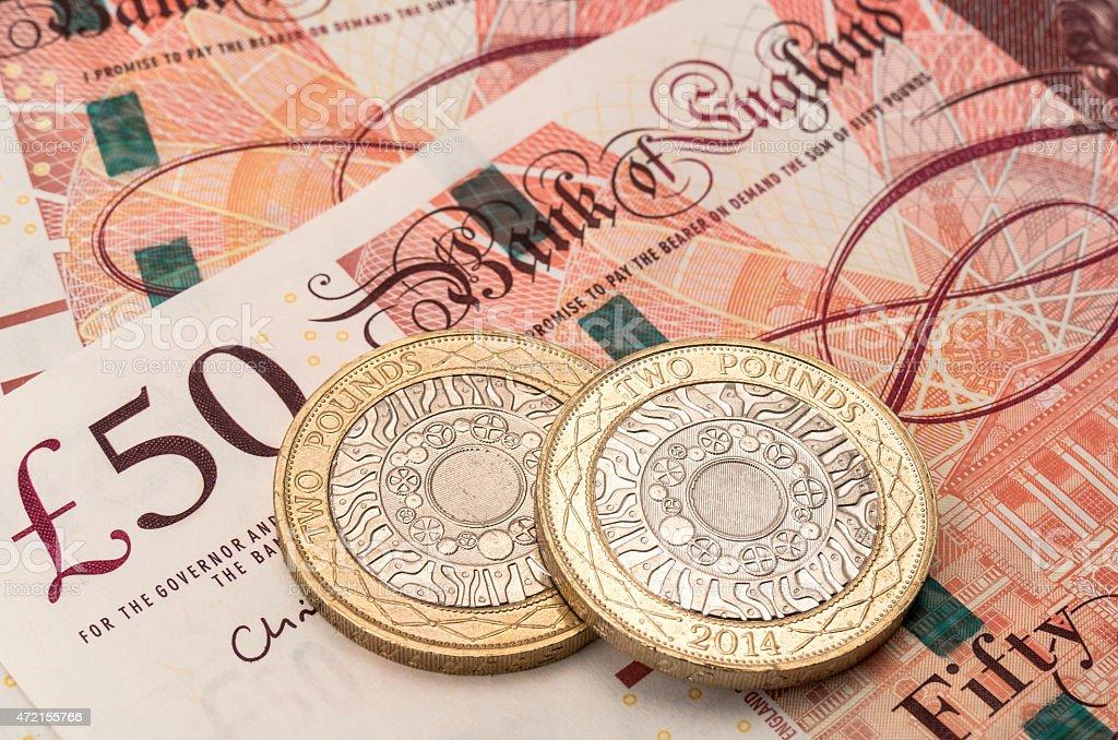 British money - UK stock photo