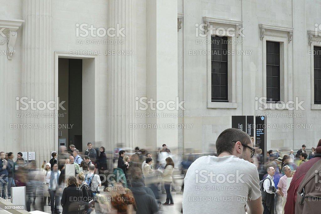 British Museum, London stock photo