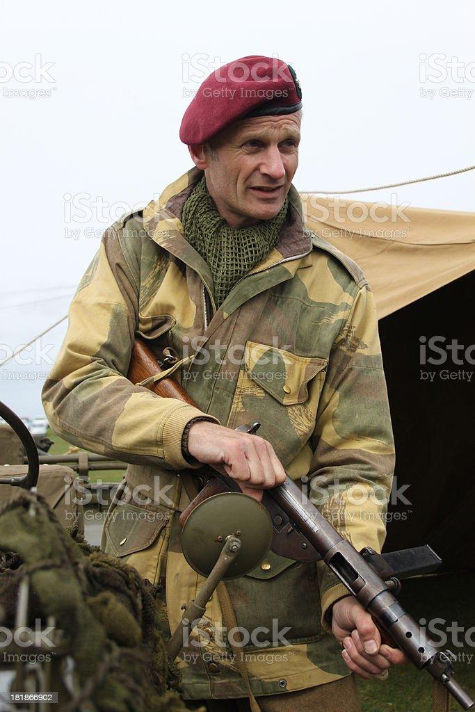 Ww2 British Paratrooper Stock Photo - Download Image Now