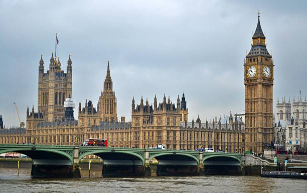 British Parliament and Big Ben stock photo