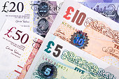 istock British Pounds a business background 1196951918