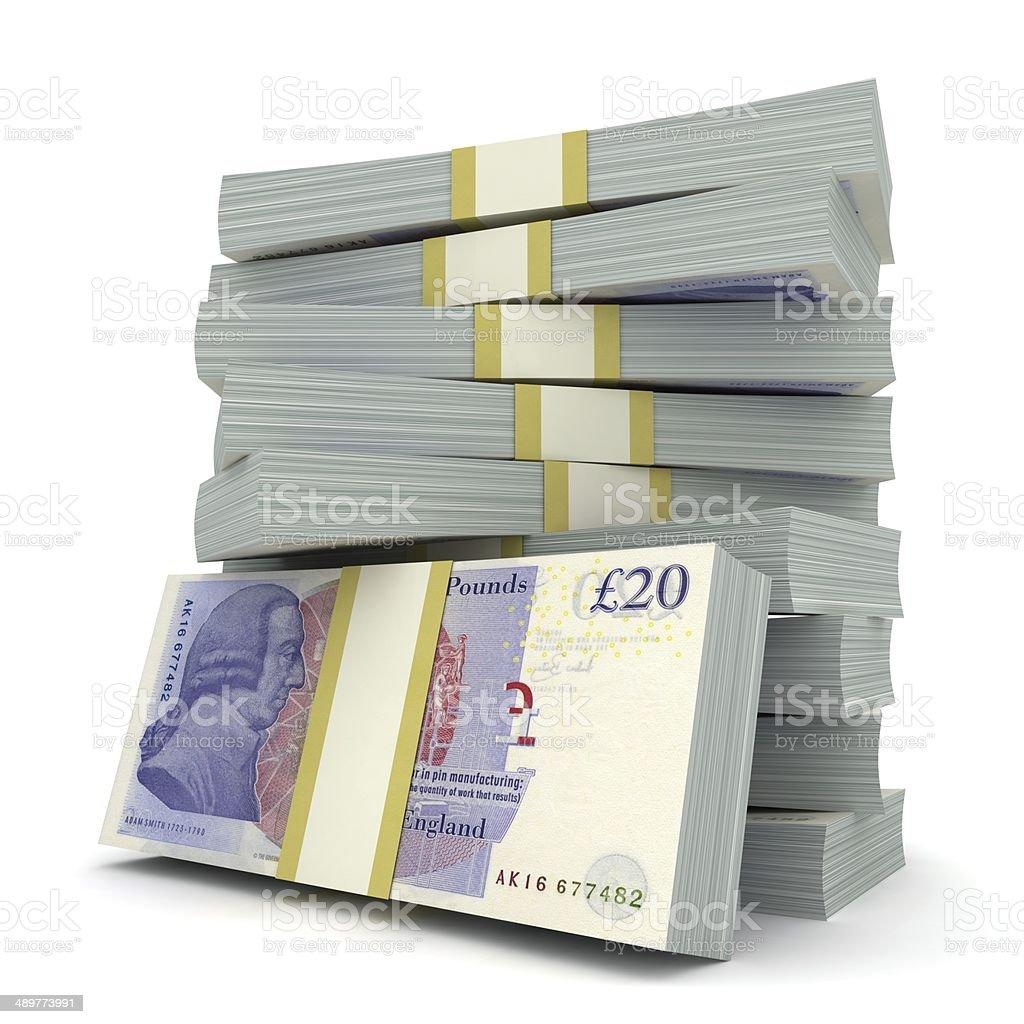 British Pounds stock photo