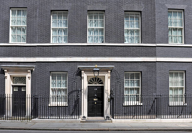 British Prime Minister stock photo