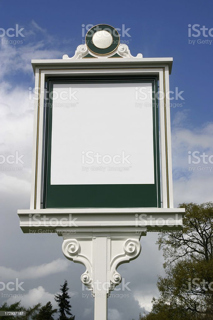 British Pub Sign stock photo