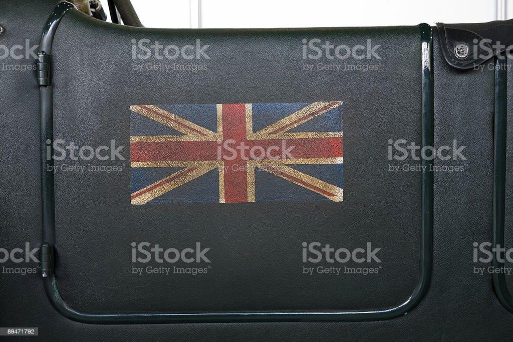 british racing green stock photo