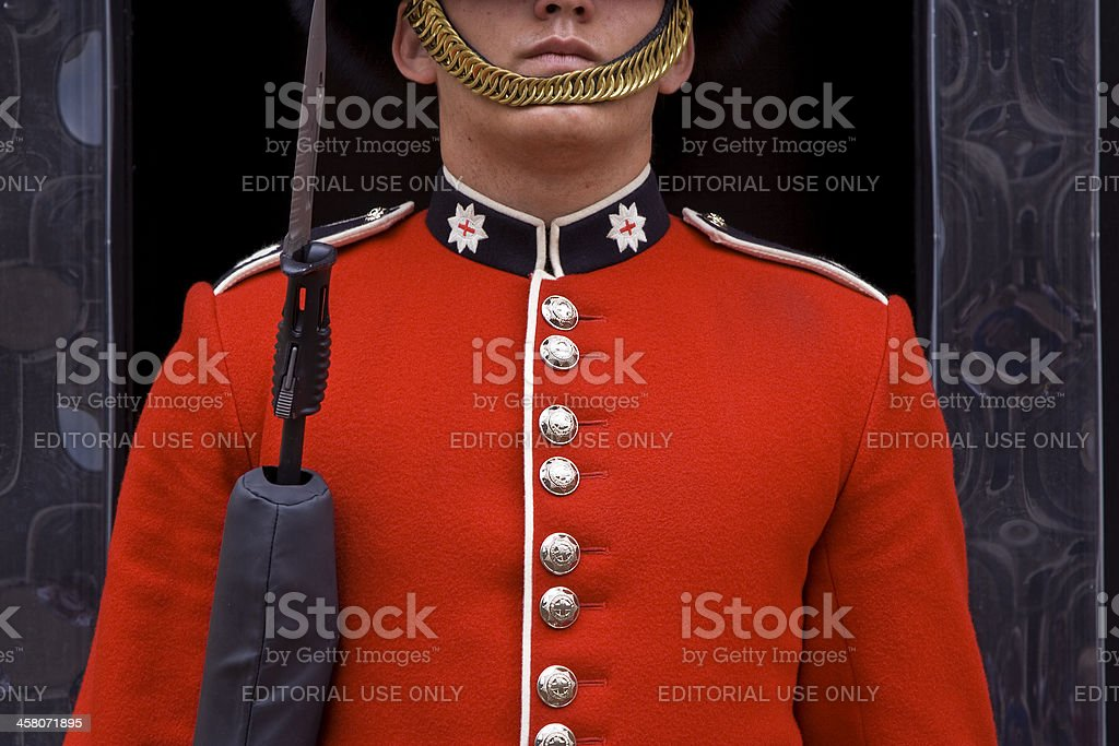 British Royal Guard stock photo