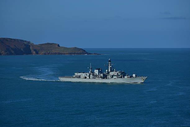 Marina real británica, Nueva Jersey - foto de stock