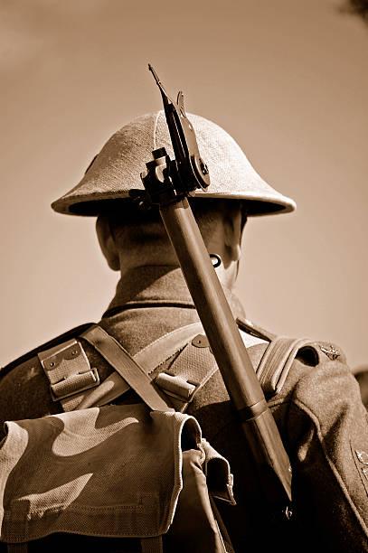 Soldat britannique Première Guerre mondiale. - Photo