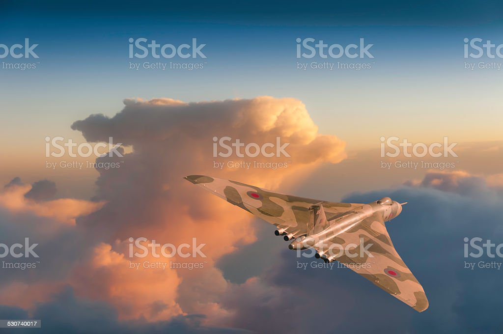 British Strategic Bomber - foto stock