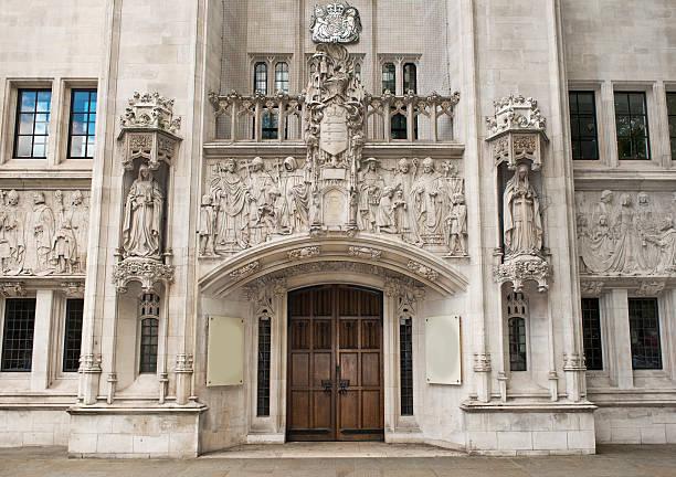 british supreme court - anayasa mahkemesi stok fotoğraflar ve resimler