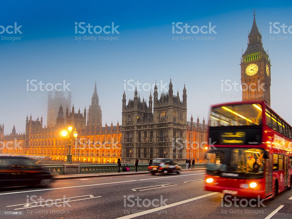 British symbols stock photo