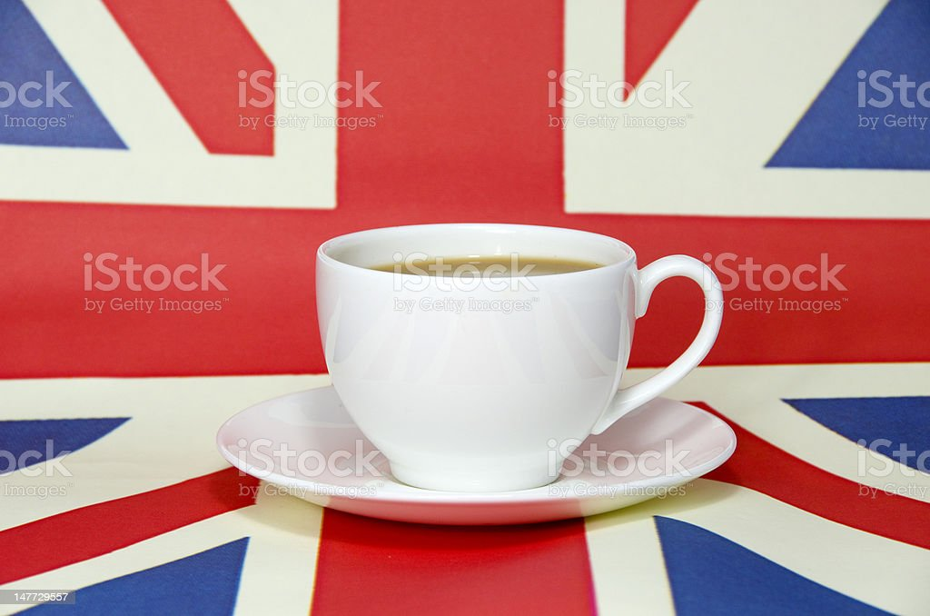 British tea stock photo