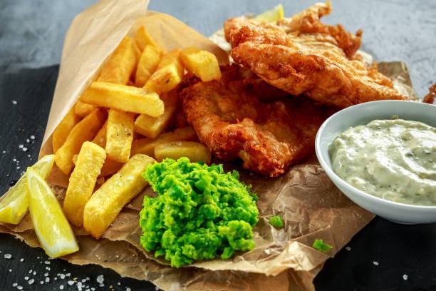 fish and chipsのストックフォト istock