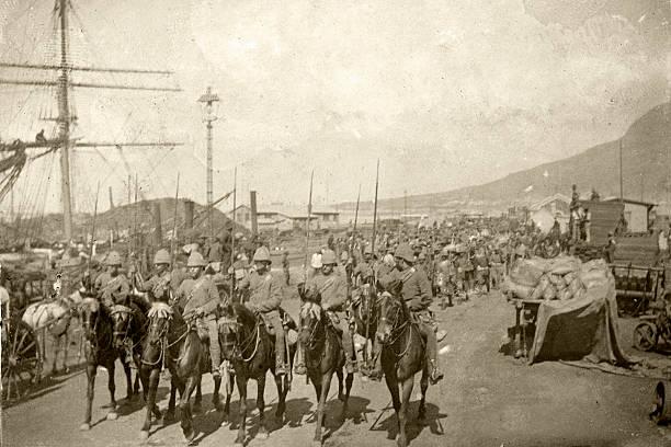 britische truppen - imperialismus stock-fotos und bilder