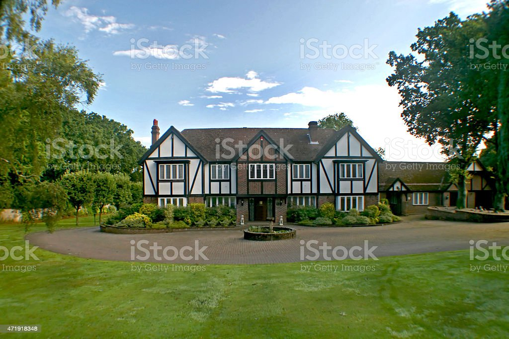 British Tudor Home stock photo