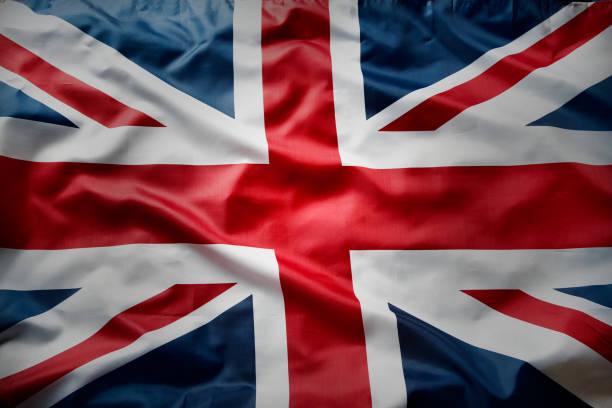 British UK flag stock photo