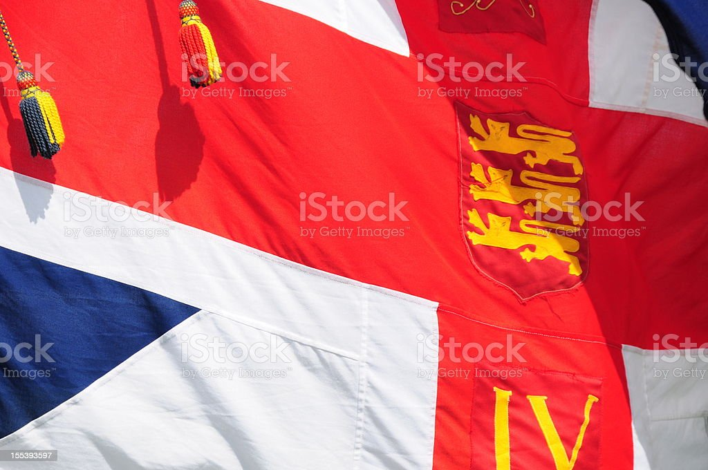 British Union flag. stock photo