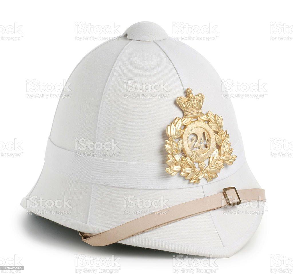 British Victorian Pith Helmet royalty-free stock photo