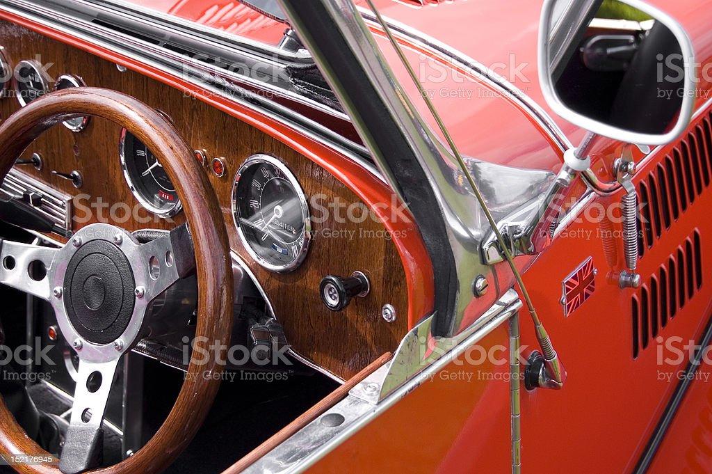British Vintage Car stock photo
