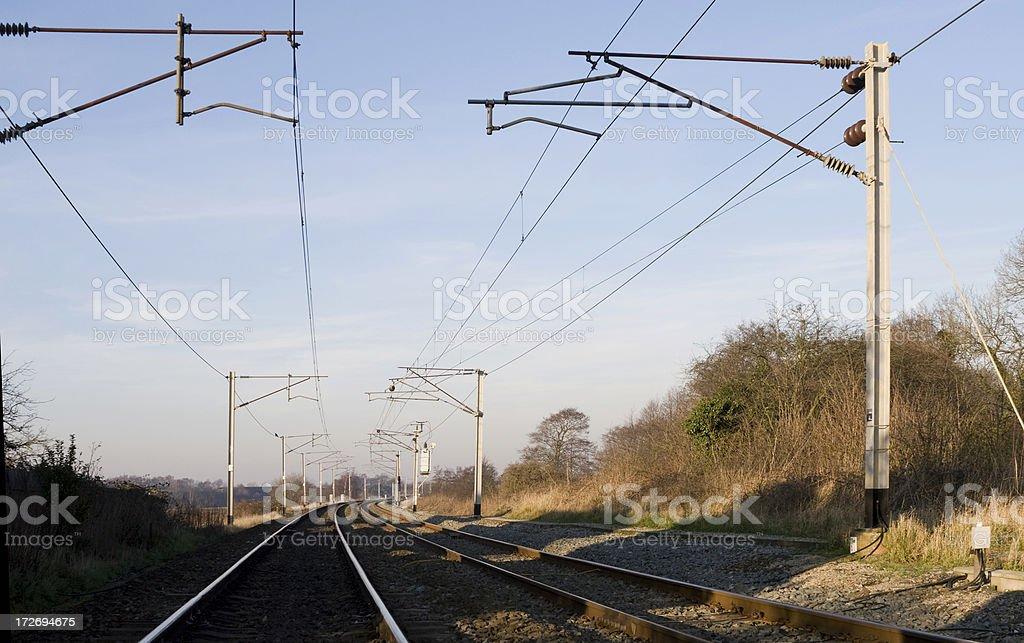 British West Coast Main Line royalty-free stock photo