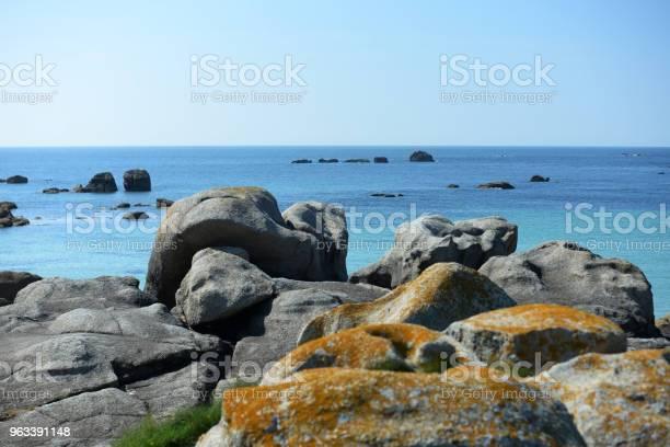 Skały Plażowe Bretanii - zdjęcia stockowe i więcej obrazów Bez ludzi