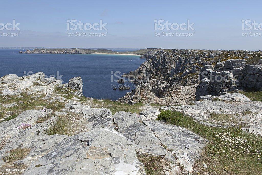 Brittany coast royalty-free stock photo