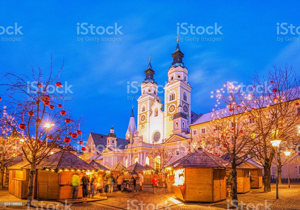 Brixen-Weihnachten Markt in Südtirol – Foto
