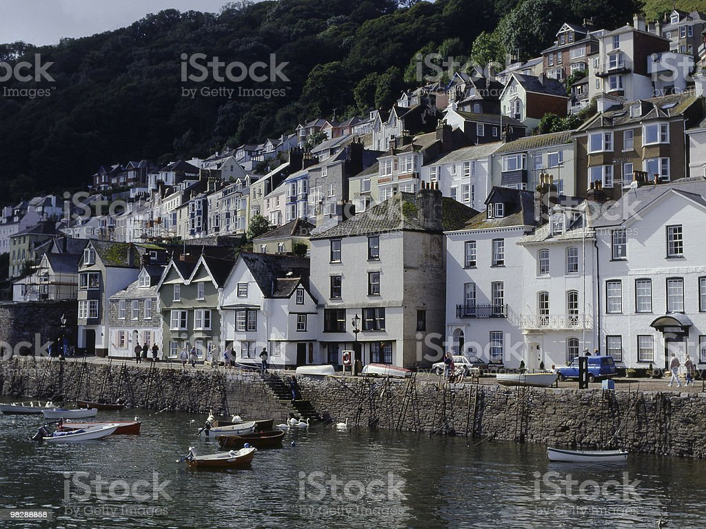 Brixham in Devon. England royalty-free stock photo