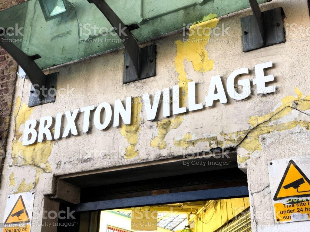 Brixton stock photo