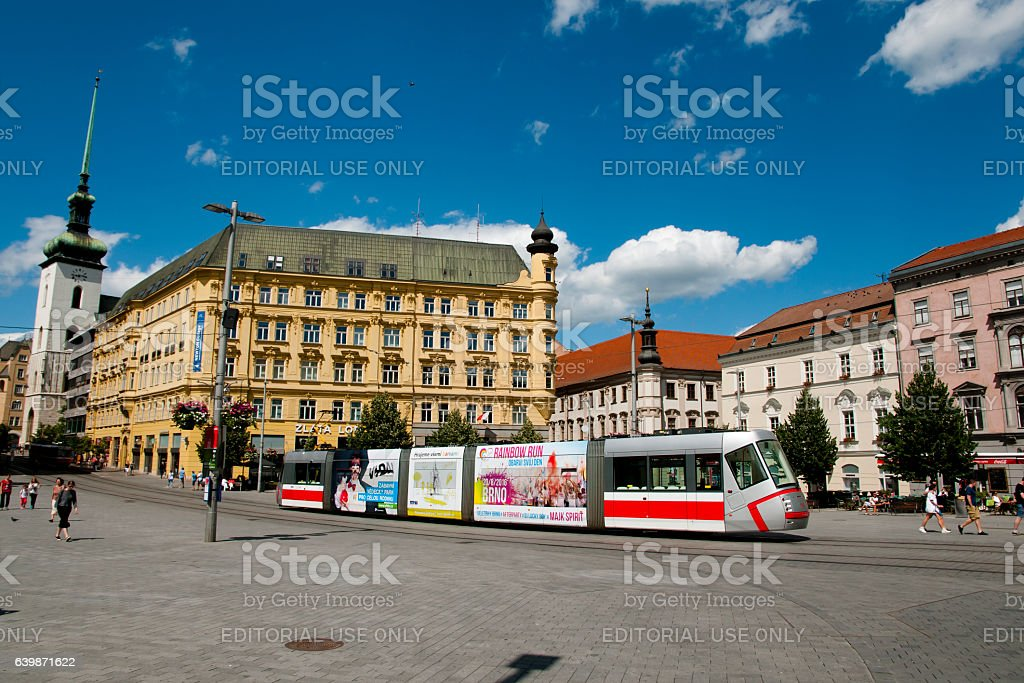 Brno - Czech Republic stock photo