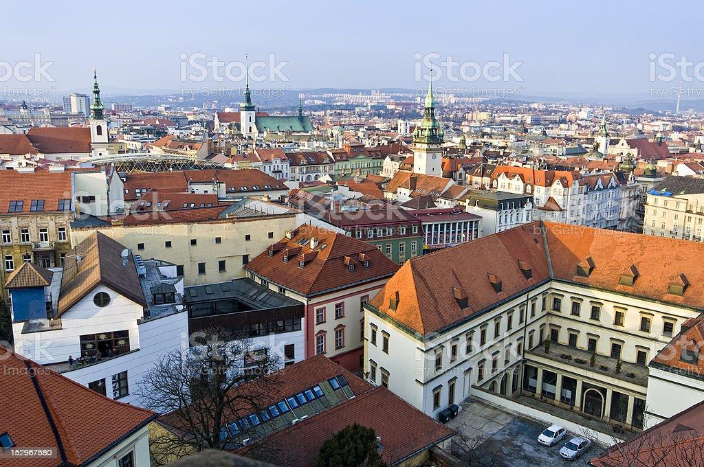 Brno historic center royalty-free stock photo