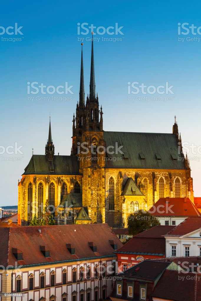 Brno. stock photo