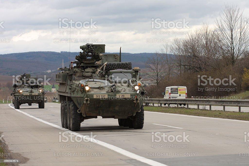 brnoczech republic march 302015dragoon ride us army convoy